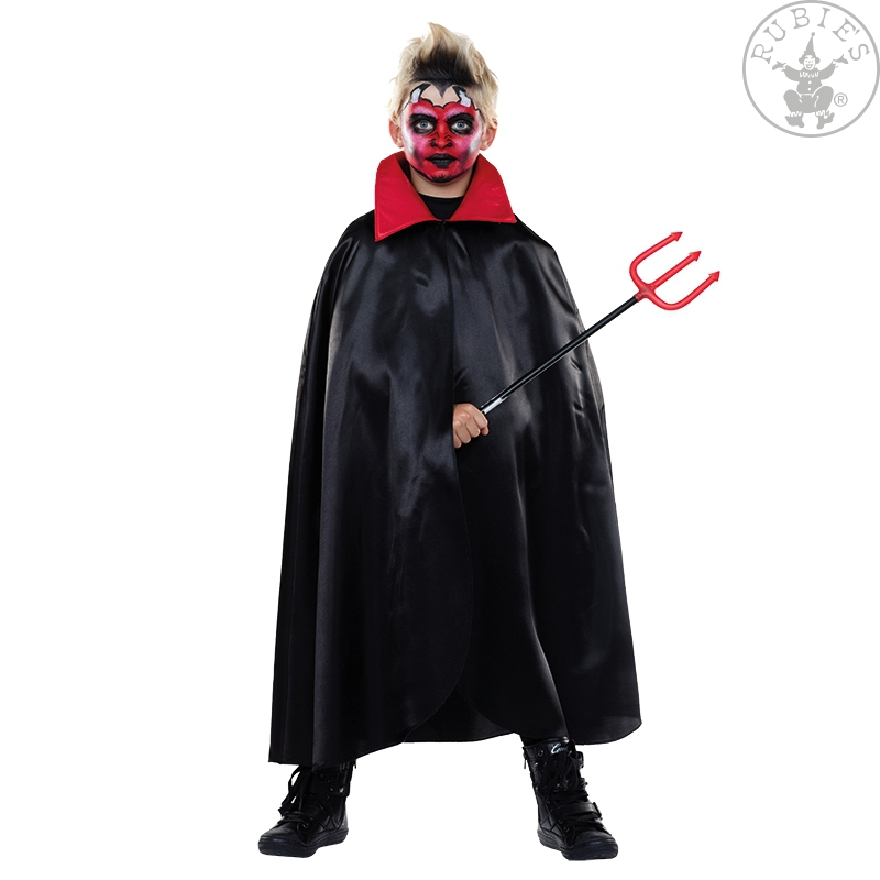 Kostýmy - Plášť čert s golierom