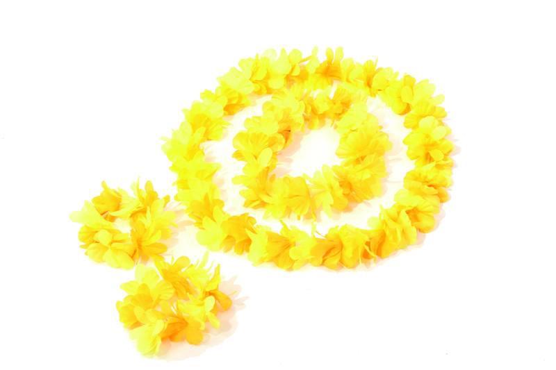 Doplnky podla zamerania - Hawaii set oranžový D