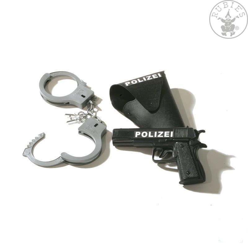 Doplnky - Policajný set 3-dielny pištole