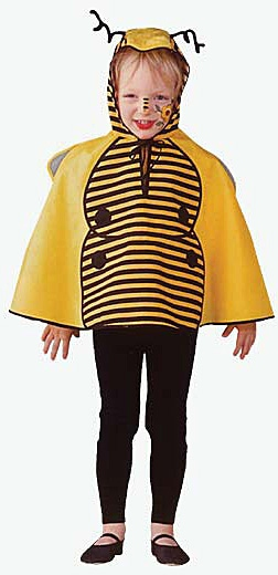 Karnevalové kostýmy - Včielka pelerína