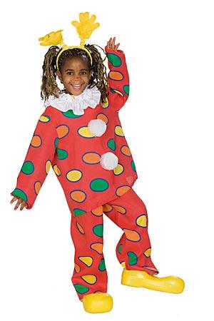 Karnevalové kostýmy - Klaun dvojdielny - karnevalový kostým