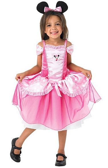 Kostýmy - Minnie Mouse Pink Balerina - licenčný kostým