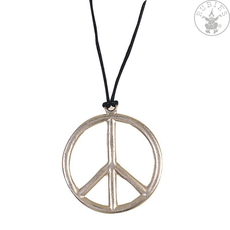 Doplnky - Náhrdelník - Peace priem . 6,5 cm