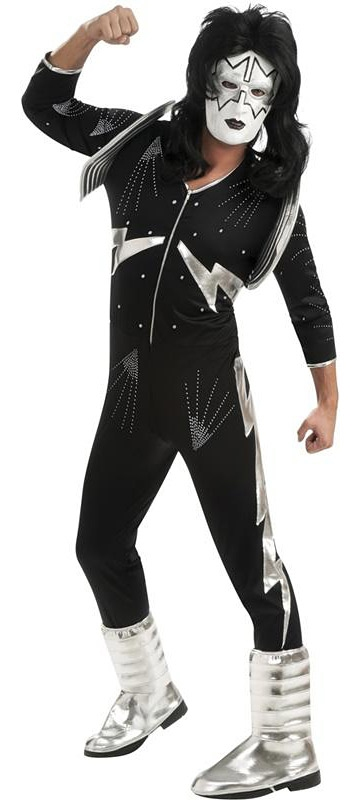 Kostýmy - KISS Deluxe The Spaceman - licenčný kostým