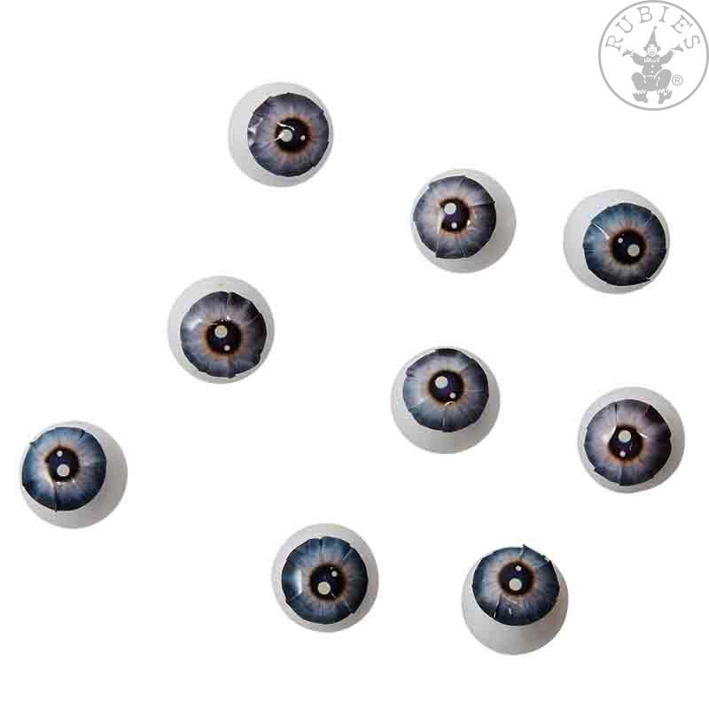Doplnky - Dekoračné oči 9 ks