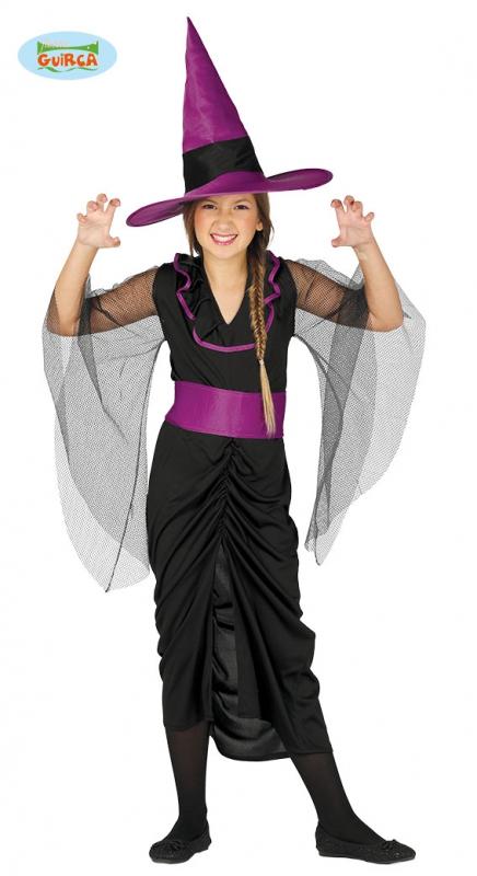 Kostýmy - Kostým čierna čarodejnica