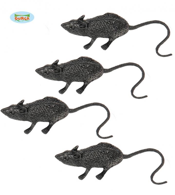 Doplnky podla zamerania - Set krysy 6 cm 4 ks