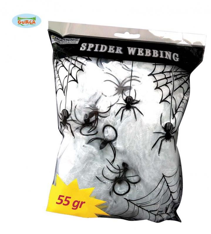 Doplnky - Fluoreskujúce pavučina 55 gr
