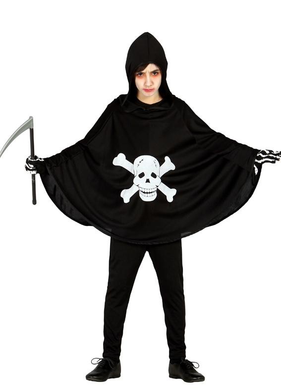 Kostýmy - Tunika - plášť so smrtkou 10-12 rokov