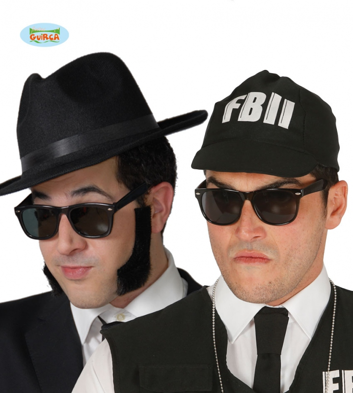 Doplnky - Okuliare Blues Brother
