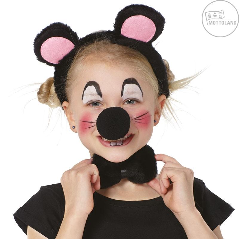 Čelenky a ozdoby hlavy - Detský set myška