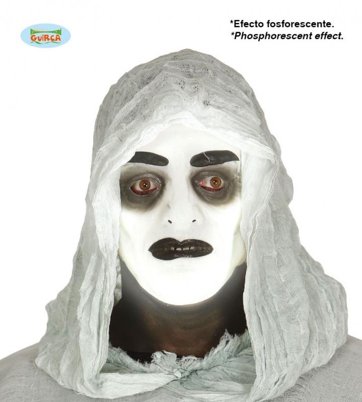 Masky na tvár - Fluoreskujúca čiernobiela maska - ON