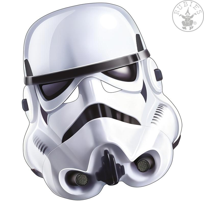 Masky - Stormtrooper - kartónová maska