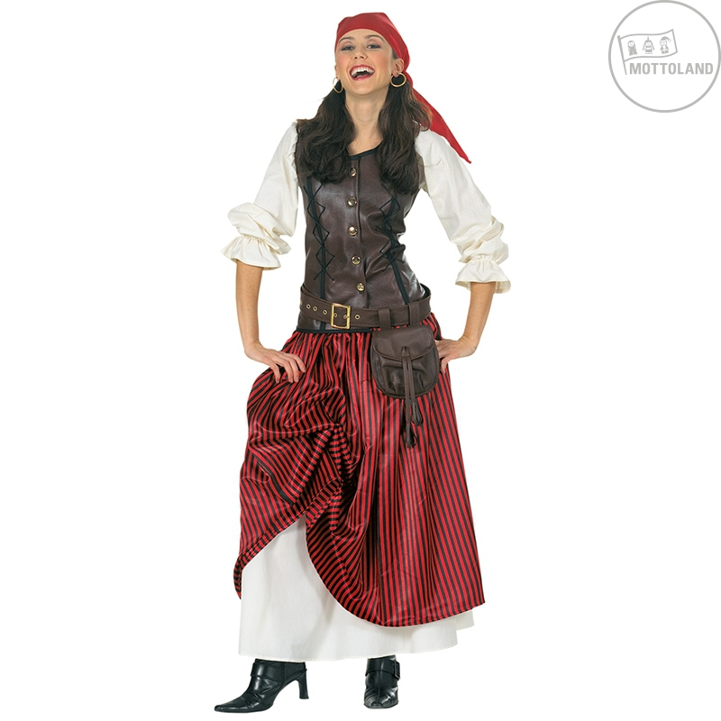 Kostýmy - Deluxe pirate lady