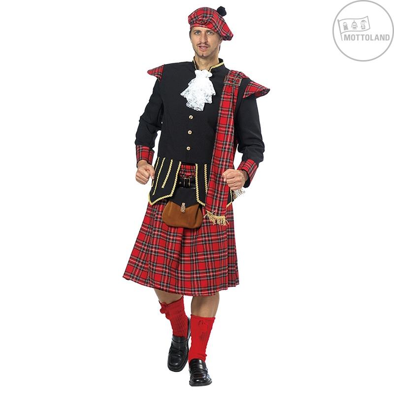 Karnevalové kostýmy - Kostým Škóta s taškou