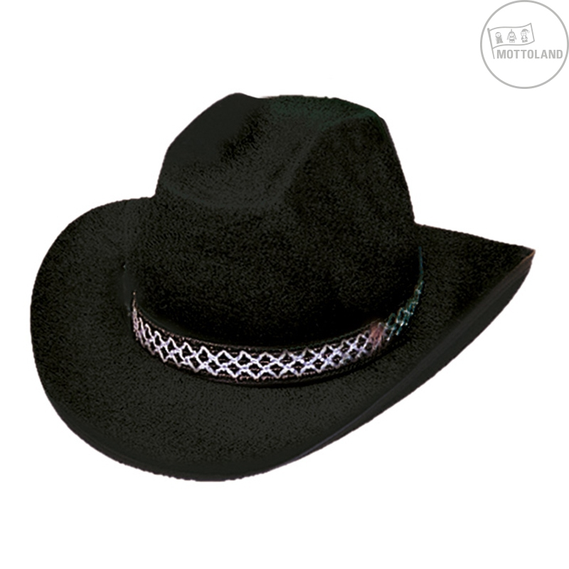 Klobúky a čiapky - Kovbojský klobúk DALLAS čierny