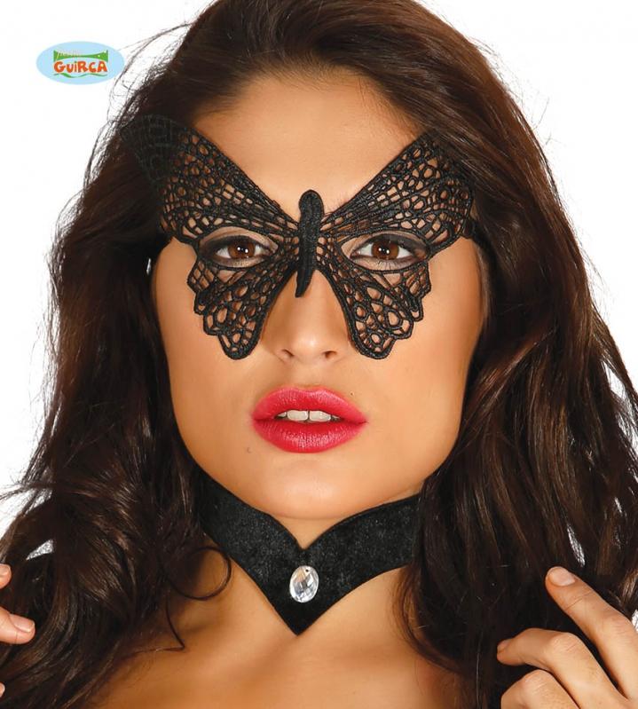 Masky - Škraboška motýľ