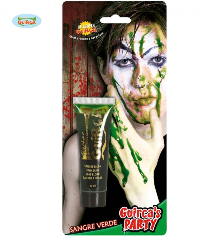 Líčidlá a  kozmetika - Krv v tube zelená
