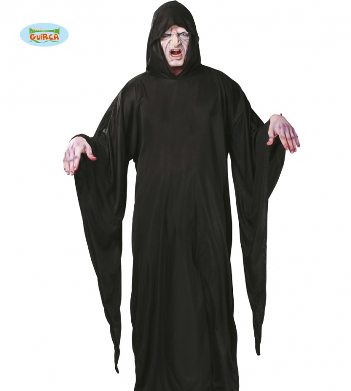 Kostýmy - Tunika s kapucňou čierna