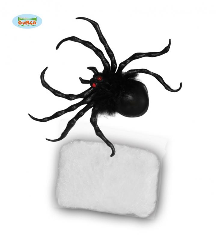 Doplnky - Pavúk s pavučinou