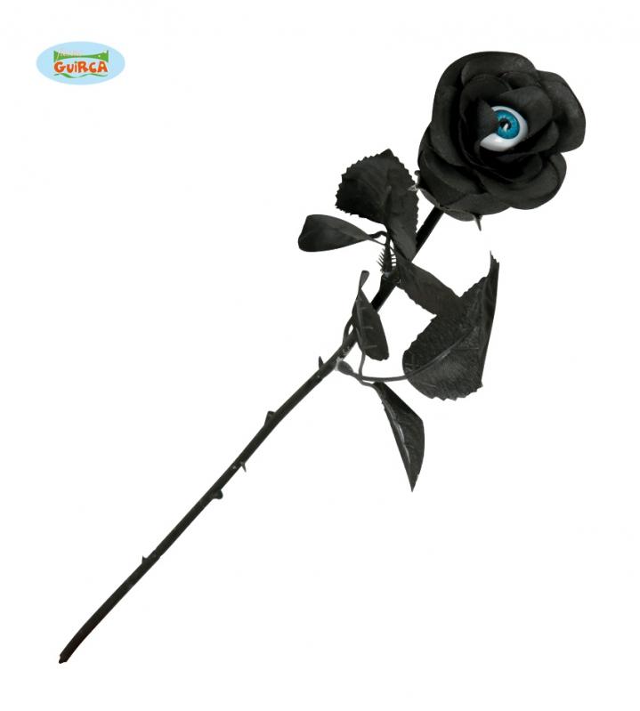Doplnky - Čierna ruža s okom
