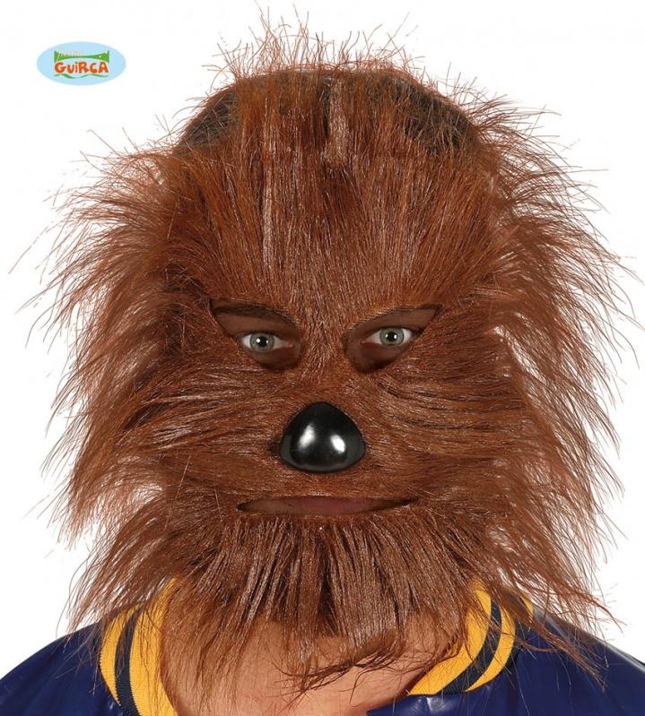 Masky - Medvedia maska s gumičkou