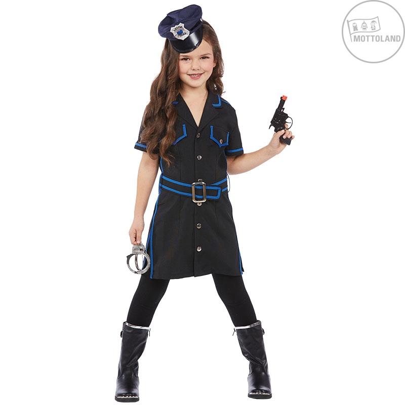 Kostýmy - Policajná dievčina - detský kostým
