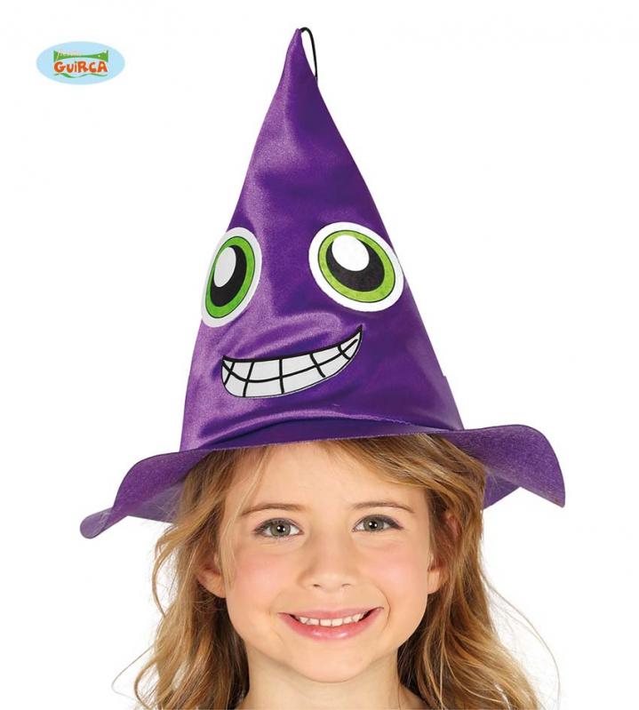 Klobúky a čiapky - Detský čarodejnícky klobúk fialový