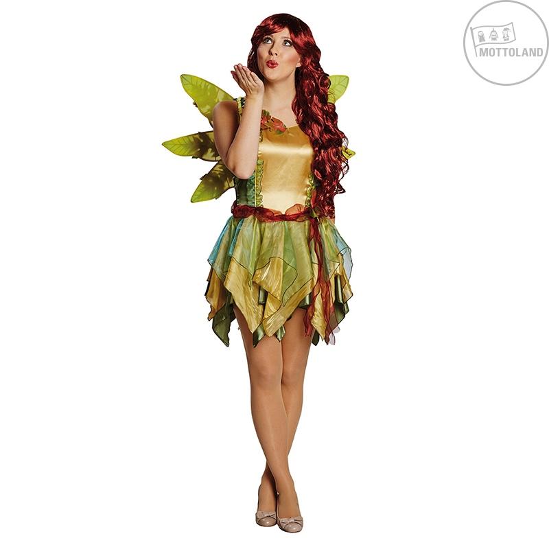 Kostýmy - Elfe - lesná víla s krídlami