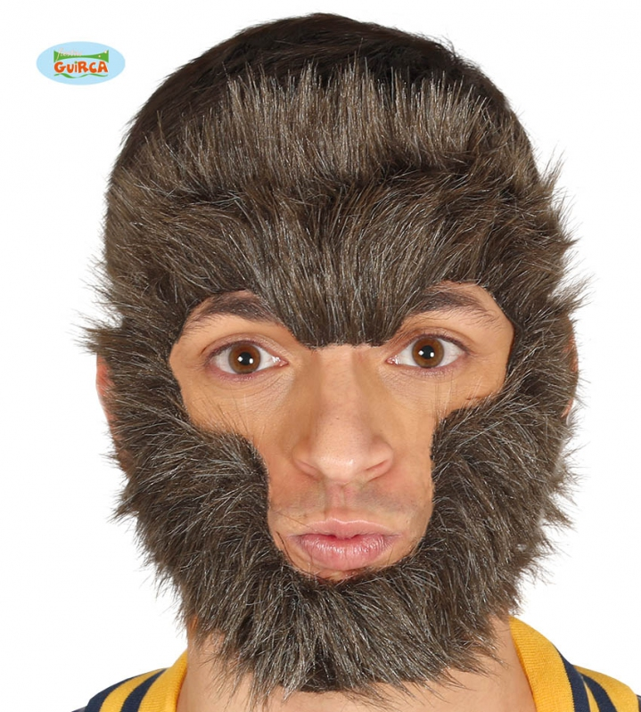Masky - Opice - vlasová maska