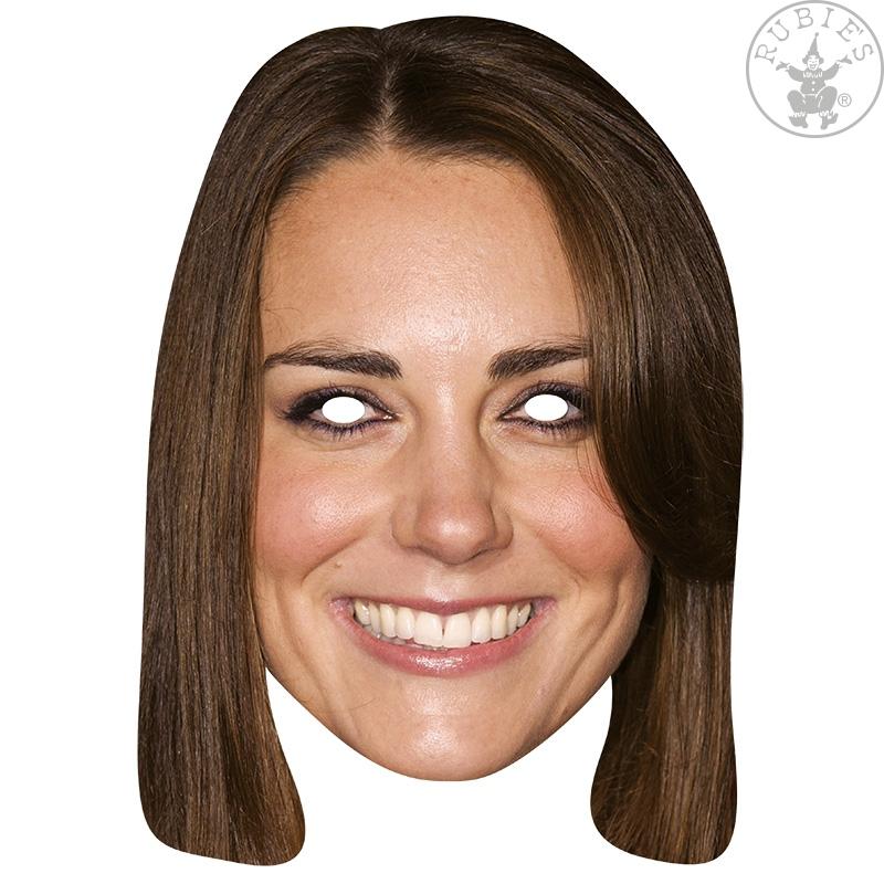 Masky - Princezná Catherine - kartónová maska pre dospelých