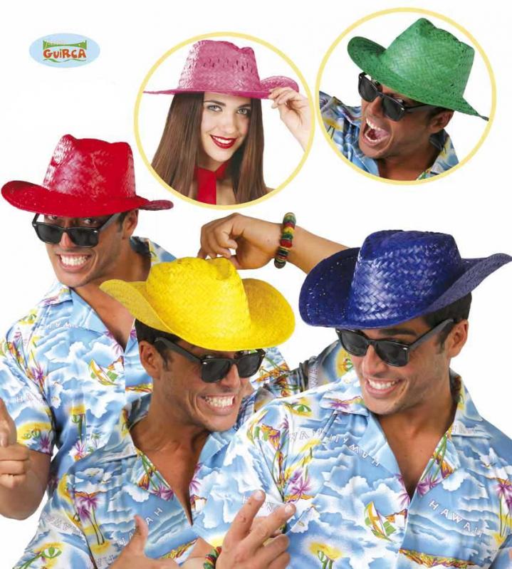Klobúky a čiapky - Letný klobúk červený