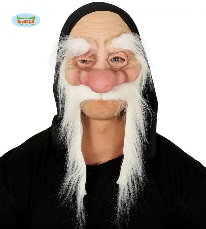 Masky - Maska škriatok s obočím a fúzy