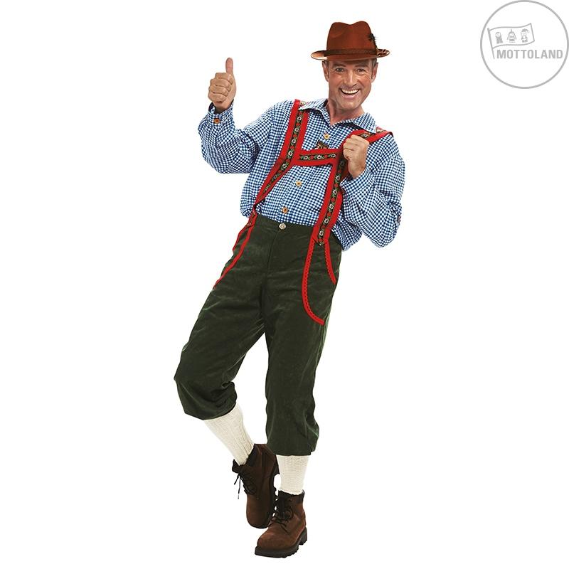 Kostýmy - Tirolské nohavice dlhé