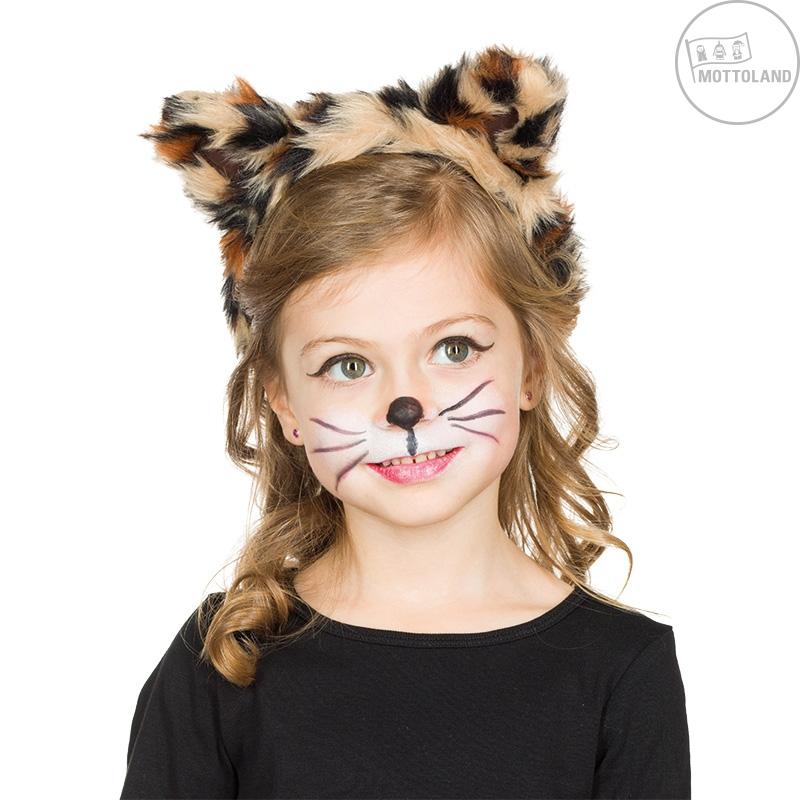 Čelenky a ozdoby hlavy - Leopard - spona pre deti