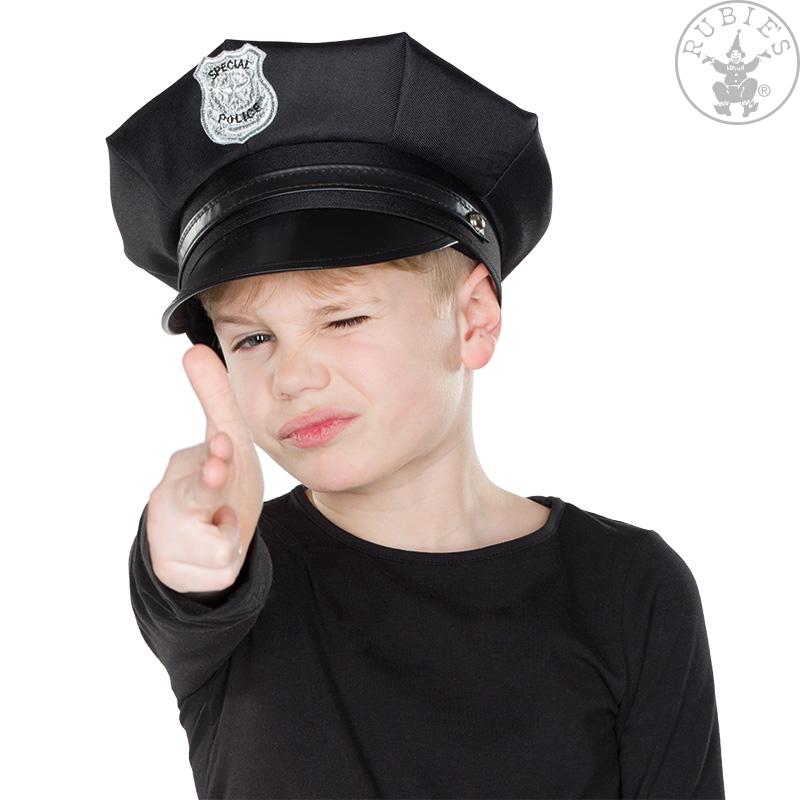 Klobúky a čiapky - Special Police - detská policajná čiapka