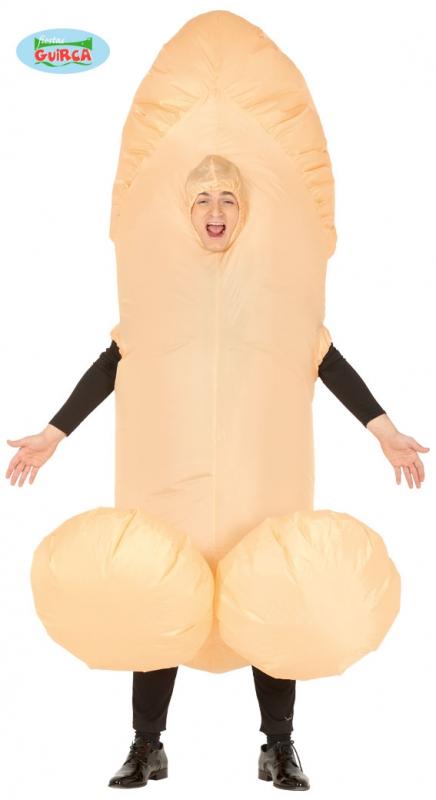 Karnevalové kostýmy - Nafukovací penis