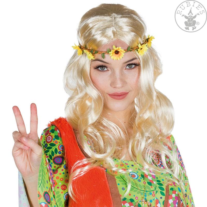 Parochne - Dámska parochňa hippie blond