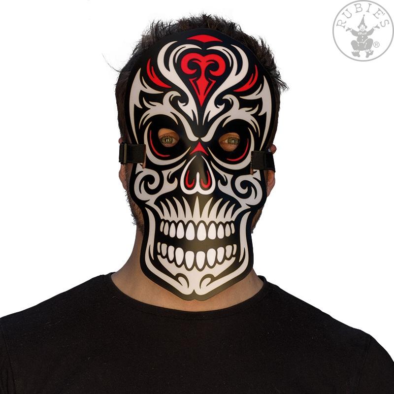 Doplnky podla zamerania - Ľad svietiace maska Skull