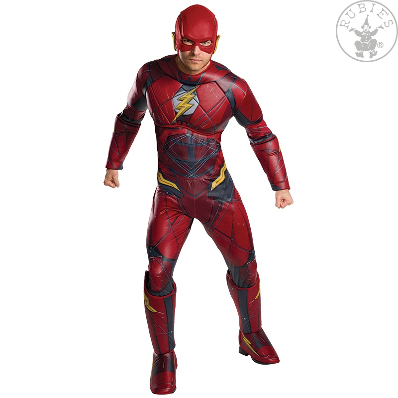 Kostýmy - Flash Justice  League Deluxe - Adult