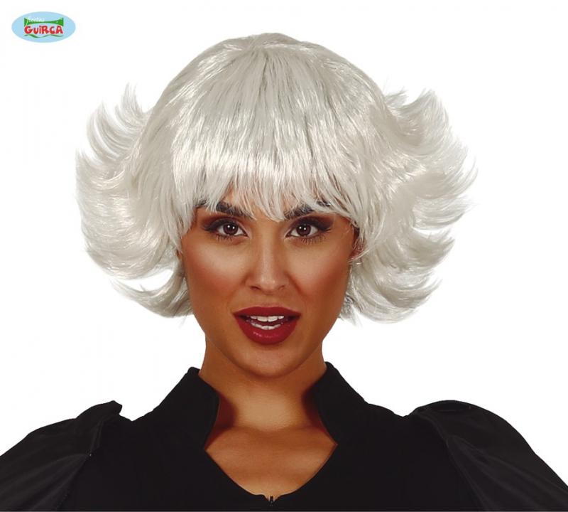 Parochne - Biela dámska parochňa Nina