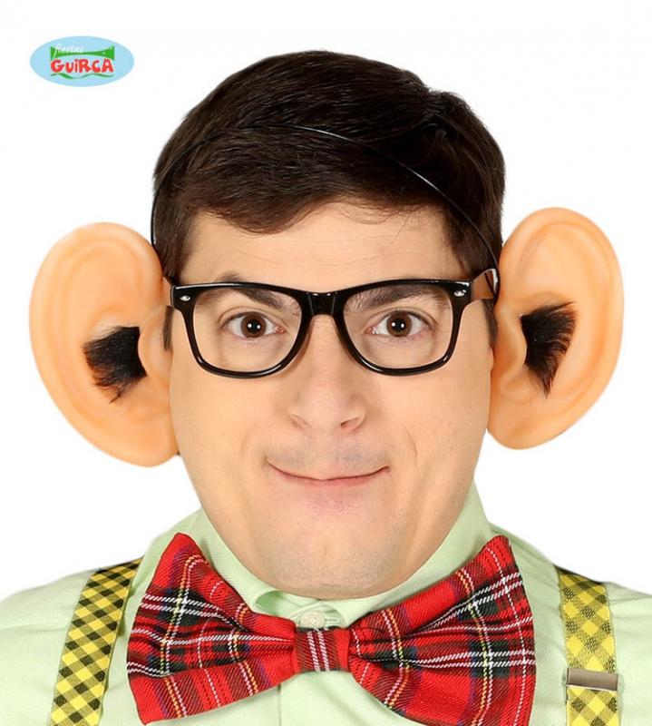 Čelenky a ozdoby hlavy - Vlasová spona s ochlupeným uši
