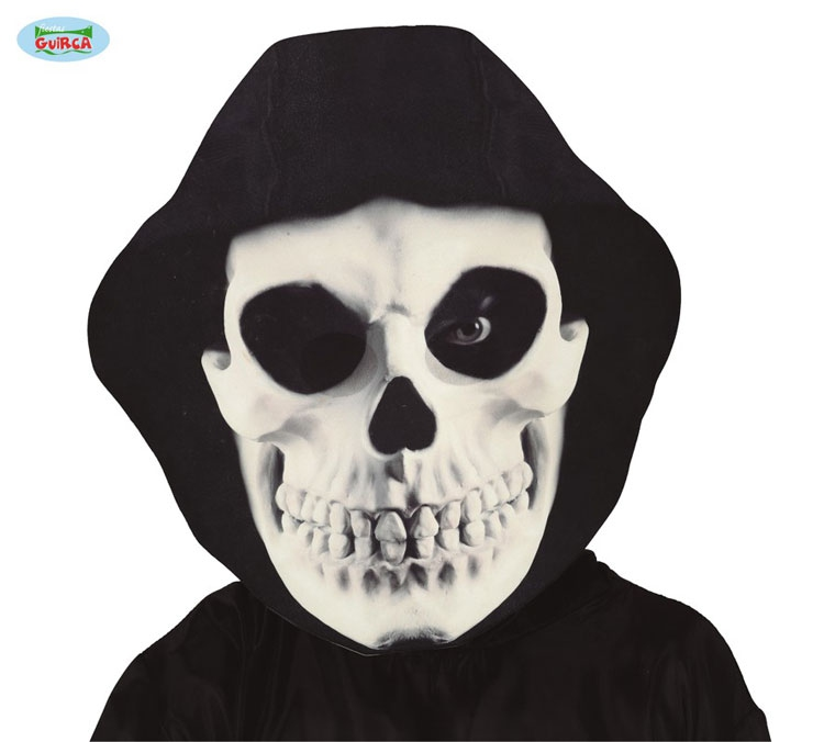 Masky - GIANT HOODED SKULL MASK - maska