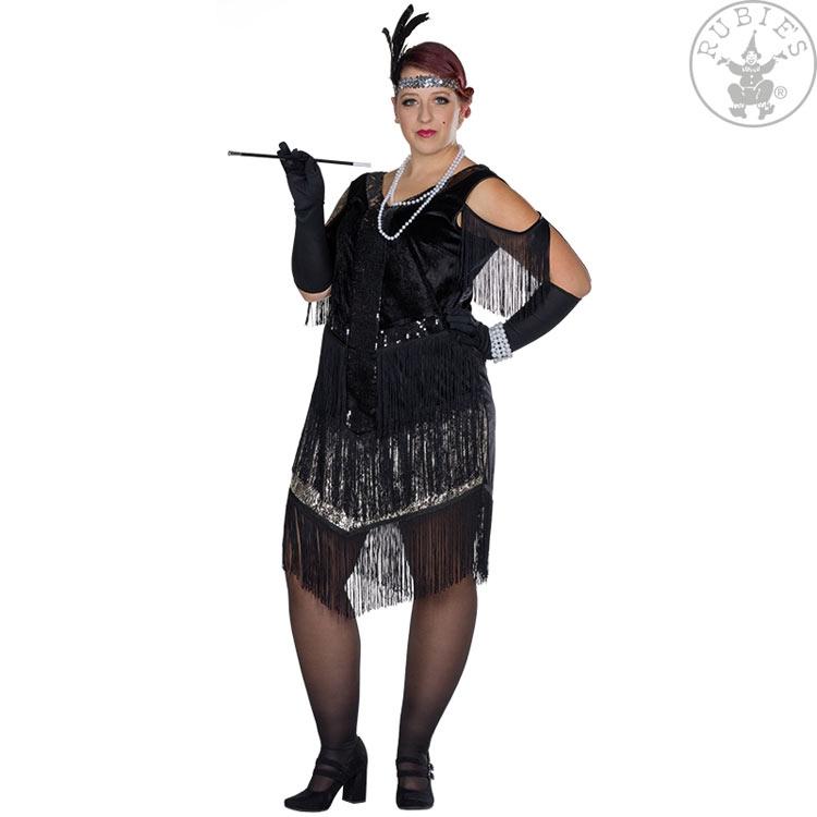 Karnevalové kostýmy - Šaty charleston FC