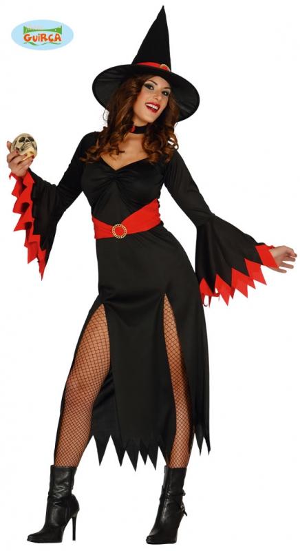 Karnevalové kostýmy - Červená ježibaba Guirca - VADA