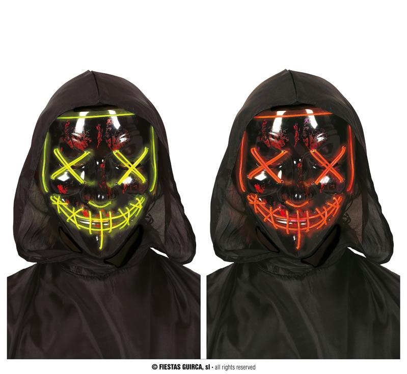 Doplnky podla zamerania - Maska s ľad osvetlením