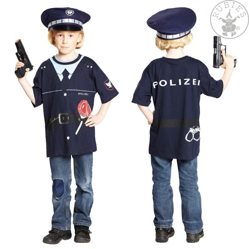 Karnevalové kostýmy - Tričko POLÍCIA