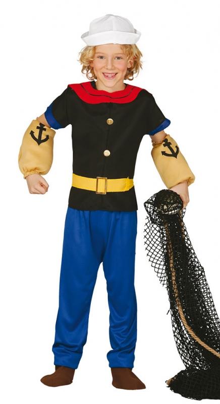 Karnevalové kostýmy - Kostým Pepek námorník