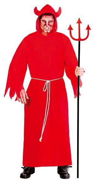 Karnevalové kostýmy - Plášť červený - Lucifer