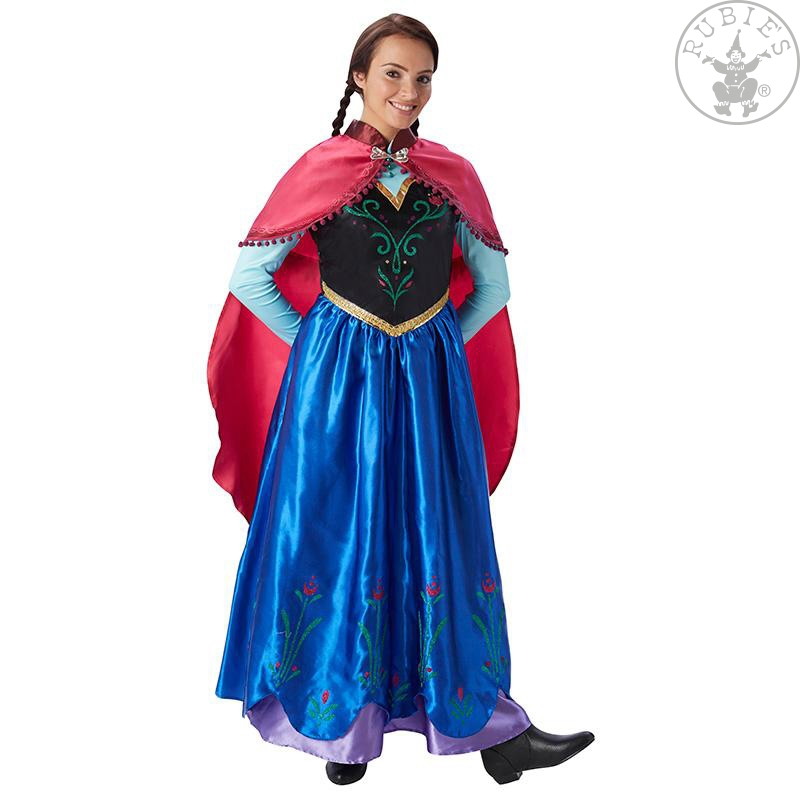 Kostýmy - Anna Frozen Adult - kostým